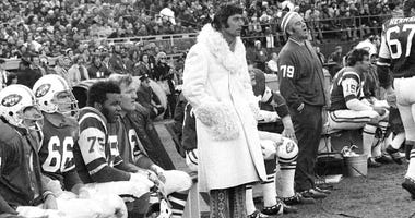 New York Jets quarterback Joe Namath