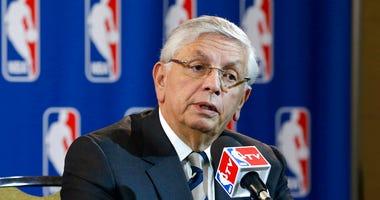 NBA Commissioner David Stern
