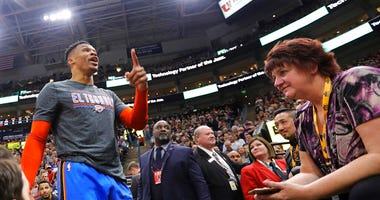 Oklahoma City Thunder's Russell Westbrook