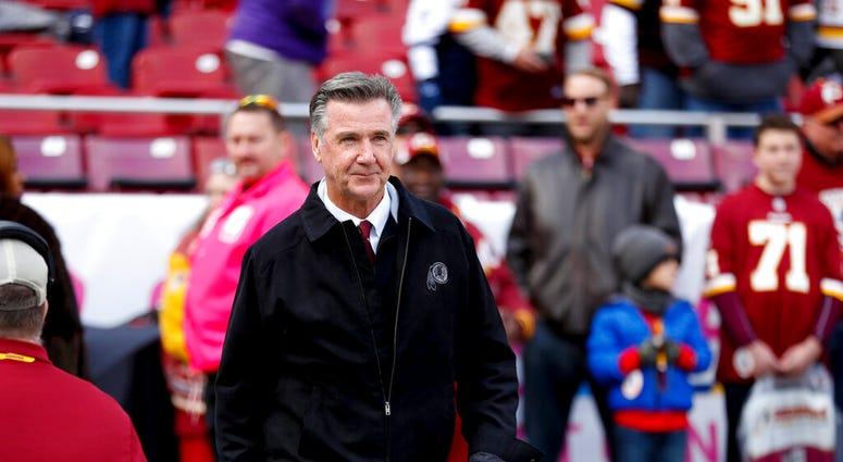 Washington Redskins President Bruce Allen