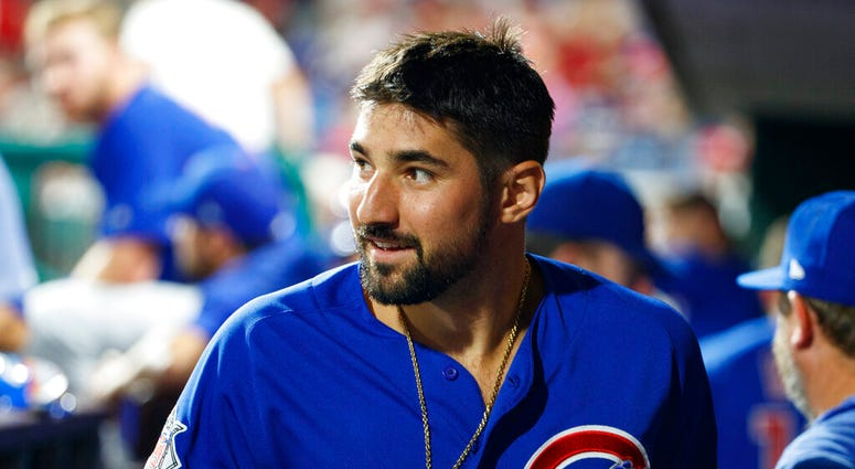 Chicago Cubs' Nicholas Castellanos
