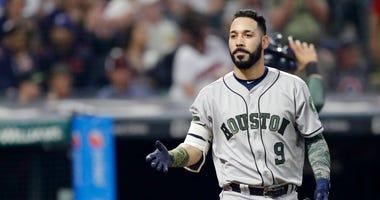 Houston Astros' Marwin Gonzalez