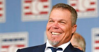 National Baseball Hall of Fame inductee Chipper Jones