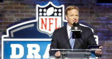 NFL Commissioner Roger Goodell, NFL Draft