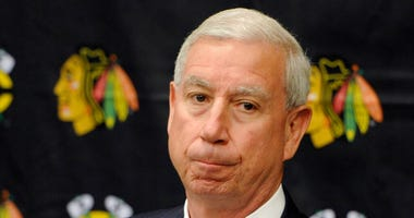 Chicago Blackhawks president John McDonough