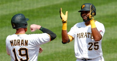 Gregory Polanco and Colin Moran