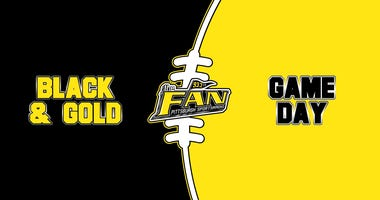 Black & Gold Game Day