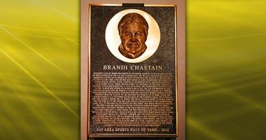 Brandi Chastain Plaque