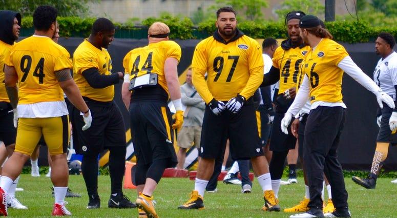 Steelers DE Cam Heyward