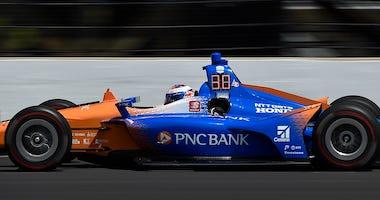 Scott Dixon's No. 9 PNC Bank Chip Ganassi Racing Honda At Indianapolis Motor Speedway