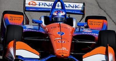 Scott Dixon's No. 9 PNC Bank Chip Ganassi Racing Honda