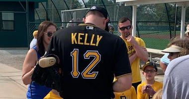 Pirates Bench Coach Don Kelly
