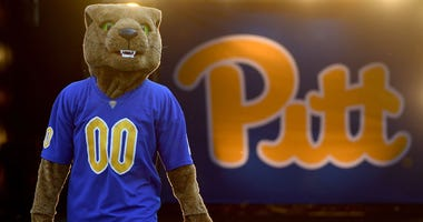 "Pitt Panthers mascot ""Roc"""