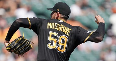 Pirates hurler Joe Musgrove is lined up for his first Opening Day assignment