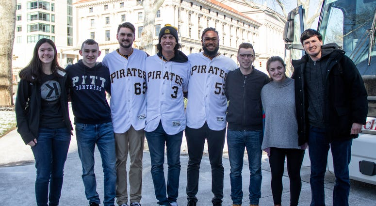Pirates on the 2019 Care-a-van