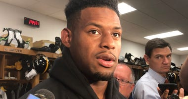 Steelers WR JuJu Smith-Schuster in 2019