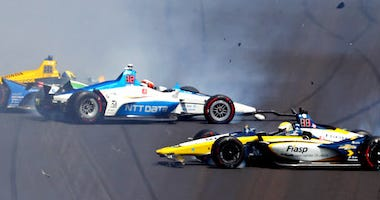 Lap 178 Crash At The 103rd Indianapolis 500