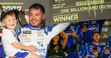 Chip Ganassi Racing's Kyle Larson Wins NASCAR All-Star Race In Charlotte