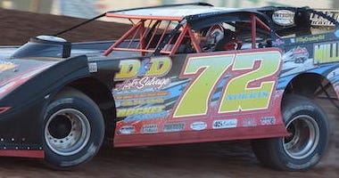 Michael Norris No. 72 Super Late Model