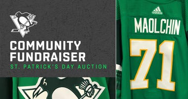 Pens Foundation To Auction St Patrick's Day Jersey In Fight Against Coronavirus