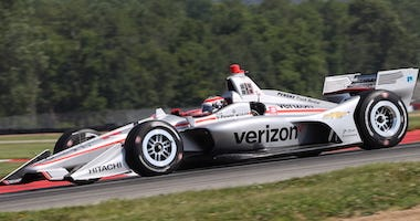 Team Penske's Will Power Wins Pole Position For Honda Indy 200 At Mid-Ohio