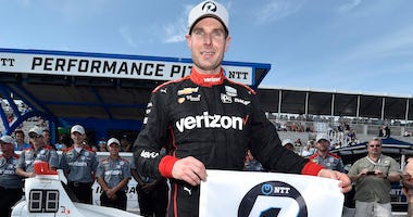Team Penske's Will Power Wins The NTT IndyCar Series Pole Position For The Firestone Grand Prix Of St. Petersburg