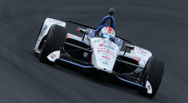 Rahal Letterman Lanigan Racing's Graham Rahal During IndyCar Qualifying For 103rd Indianapolis 500