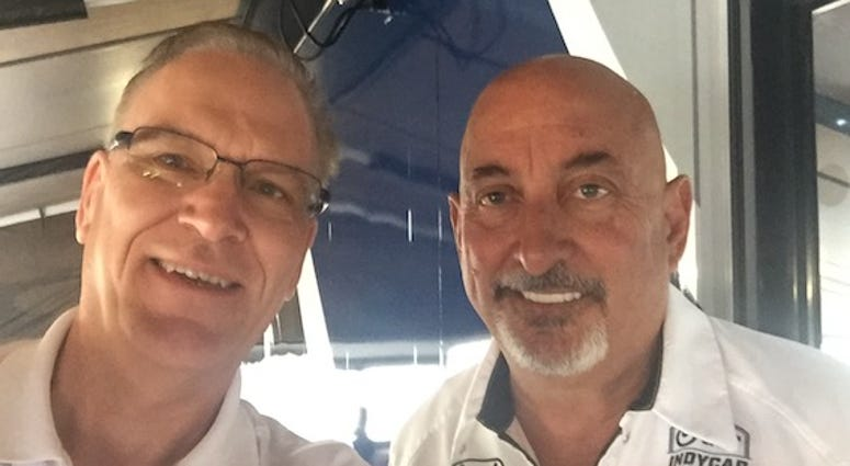 Bobby Rahal With Scott Stiller