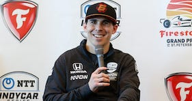 Robert Wickens Visits NTT IndyCar Firestone Grand Prix Of St. Petersburg