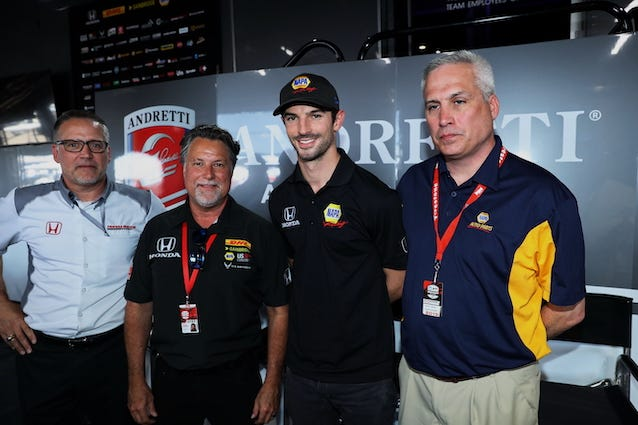 Andretti Autosport Chairman and CEO Michael Andretti and Alexander Rossi Agree To Multi-year Deal