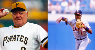 Bill Mazeroski and Lou Whitaker