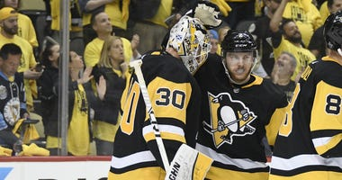 Chad Ruhwedel and Matt Murray