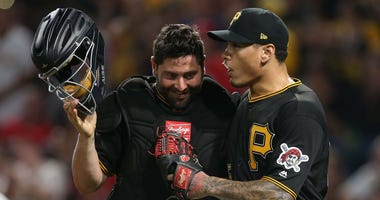 Francisco Cervelli and Keone Kela