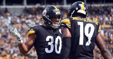 James Conner & JuJu Smith-Schuster