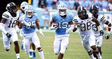 Pitt defense against UNC