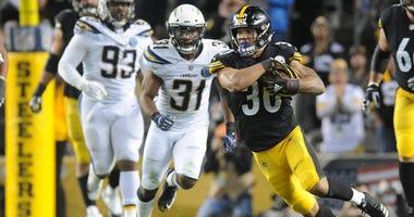 Steelers Running Back James Conner