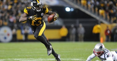 Pittsburgh, PA, USA; Pittsburgh Steelerswide receiver James Washington