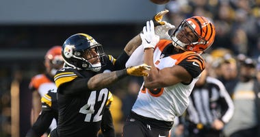 Pittsburgh Steelers strong safety Morgan Burnett