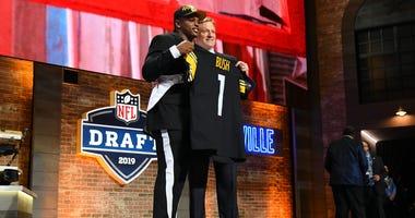 Steelers drafting Devin Bush in 2019 Draft