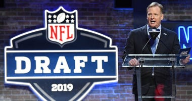 Roger Goodell at Draft
