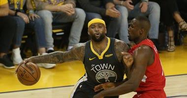 Golden State Warriors center DeMarcus Cousins