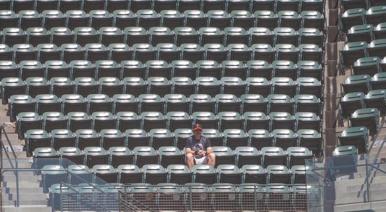 empty crowd