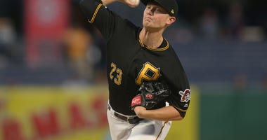 Pittsburgh Pirates starting pitcher Mitch Keller
