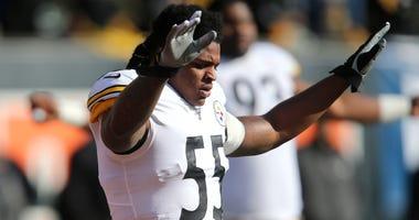 Steelers linebacker Devin Bush