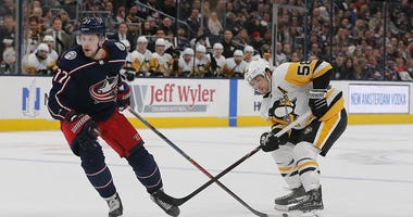 Blue Jackets v. Penguins