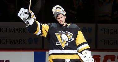 Penguins Goaltender Tristan Jarry