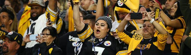 Steelers crowd