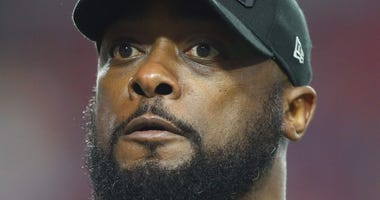 Mike Tomlin closeup