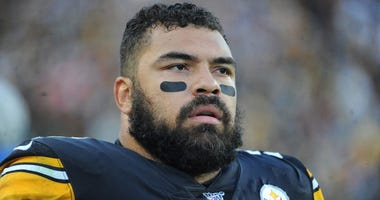 Cam Heyward close-up