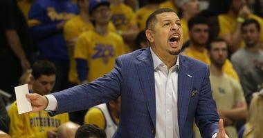 Pitt Men's Basketball coach Jeff Capel